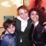 Romina e fratellino con Alice