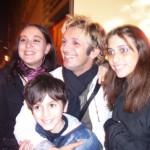 Giulia, Mariangela con Manuel