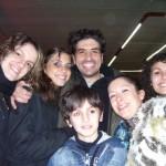 Gruppo con Claudio Castrogiovanni (Uncino)