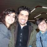 Io e Silvia con Claudio