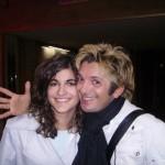 Io con Manuel Frattini (Peter) (il mio mito)